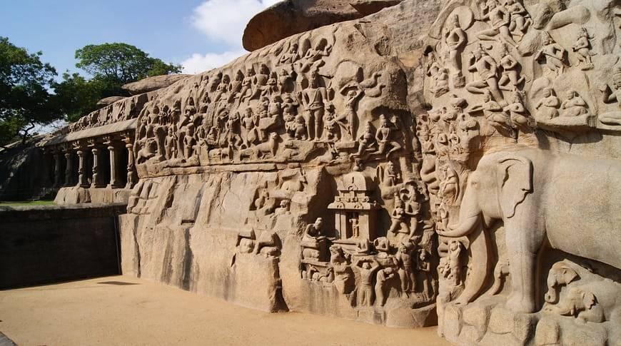 Mahabalipuram-caves-kesari-tours