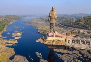 STATUE OF UNITY WITH AHMEDABAD
